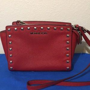 Michael kors red purse